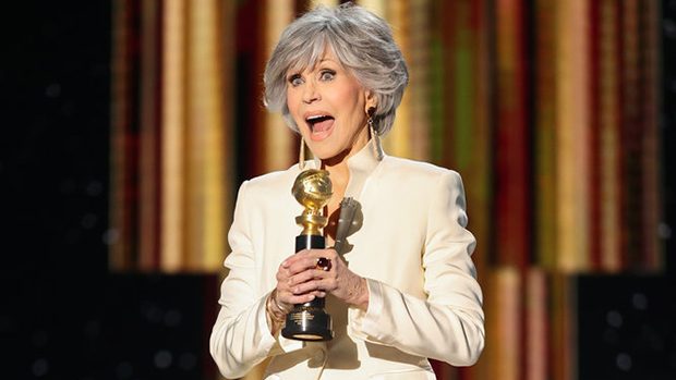 Jane Fonda Urges Hollywood To Get 'In Step' With Elevating Diverse Voices In Powerful Golden Globes Speech