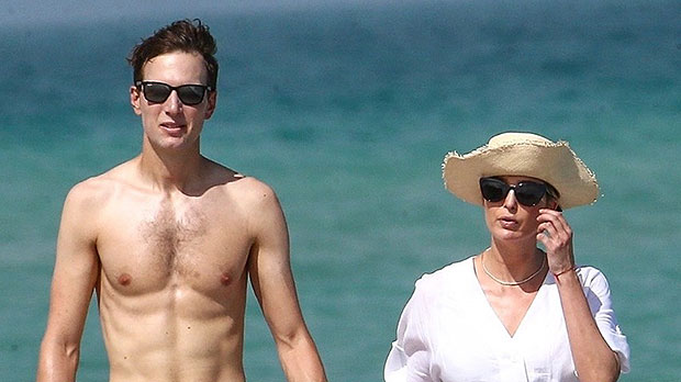 Jared Kushner Goes Shirtless With Carefree Ivanka Trump As They Hit Miami Beach Without Masks
