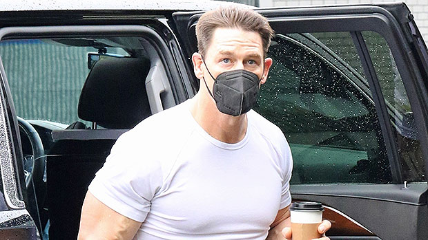 John Cena, 43, Shows Off Muscles In Tight T-Shirt 4 Months After Getting Married