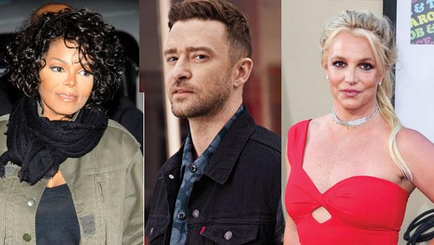 Janet Jackson, Justin Timberlake & Britney Spears