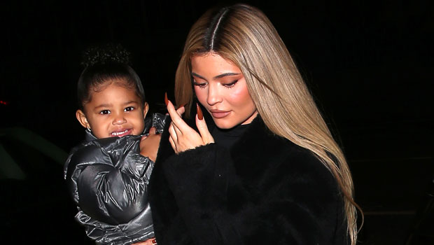 Kylie Jenner's Daughter Stormi, 2, Channels Her Mom's Style In Leather Pants & Sneakers — See Pics