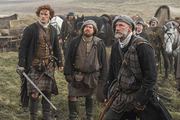 Sam Heughan Graham McTavish