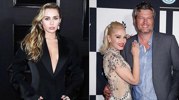 Miley Cyrus Gwen Stefani Blake Shelton