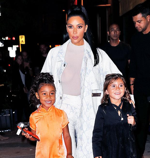 Kim Kardashian, North West, Penelope Disick