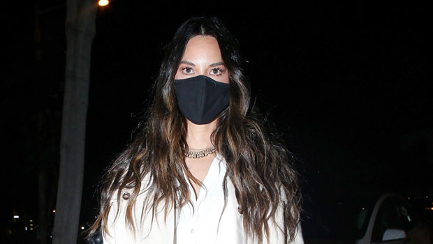 Olivia Munn Slays In Daisy Dukes & Thigh High Boots For Night Out — See Pics