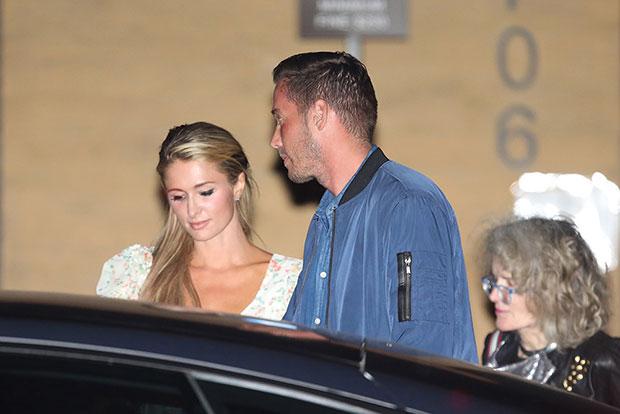 Paris Hilton Engagement Ring Details