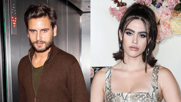 Scott Disick, 37, Snuggles Up To Amelia Hamlin, 19, On Romantic Dinner Date Before Valentine's Day — See Pics