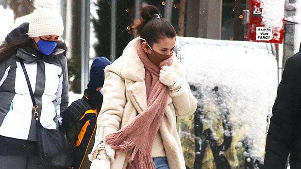 Selena Gomez in NYC
