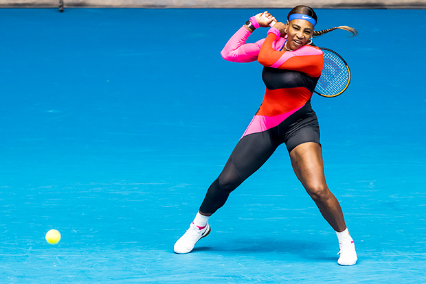 Serena Williams at the Australian Open 2021