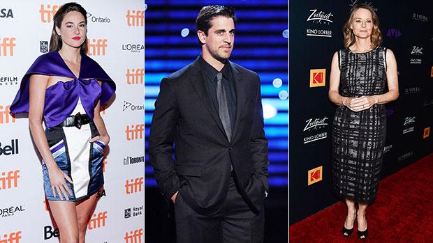 Shailene Woodley, Aaron Rodgers & Jodie Foster