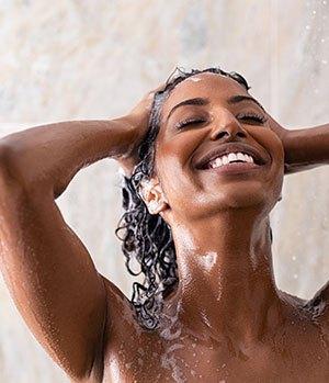Hydrating shampoo for dry hair