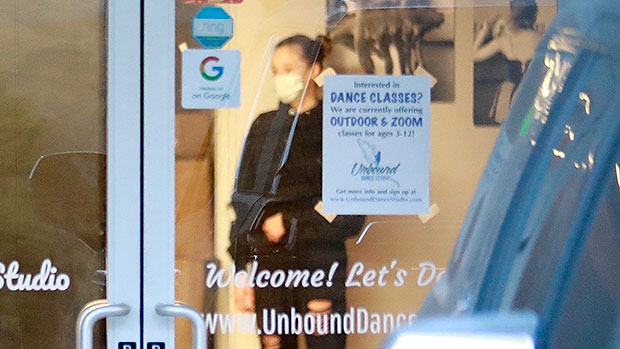Shiloh Jolie-Pitt, 14, Rocks Ripped Pants & Ponytail At Dance Studio In Pasadena — See Pic
