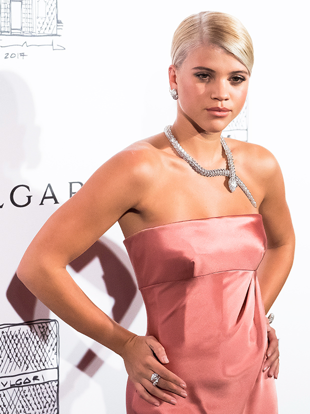 Sofia Richie on the red carpet