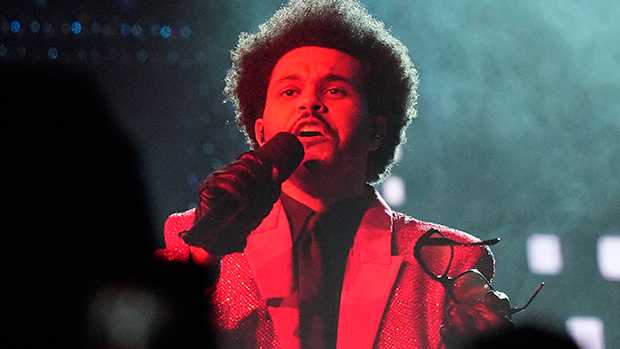The Weeknd Takes Over The Stands & Belts Out 'Blinding Lights' & More For Super Bowl Halftime Show
