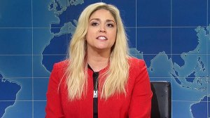 Cecily Strong's 'Marjorie Taylor Greene' Insists Genderless Potato Head Is Biggest Crisis In America On 'SNL'