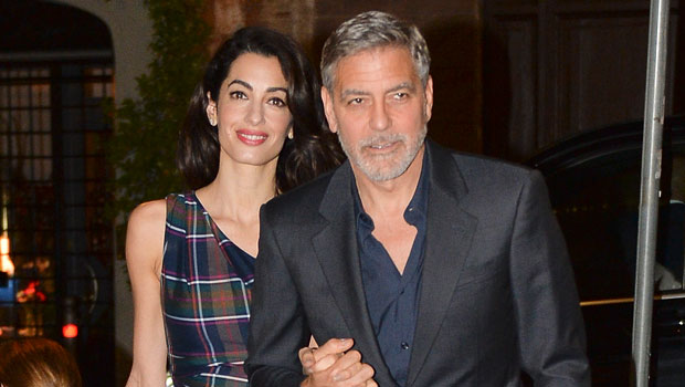 George Clooney Says Amal Is Watching 'ER' & His Character's Womanizing Is Getting Him 'In Trouble'