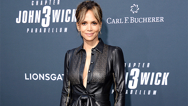 Halle Berry Rocks Bikini Bottoms & Tied Up Crop Top In Gorgeous New Photo