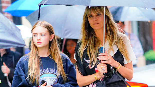 Heidi Klum & daughter Leni