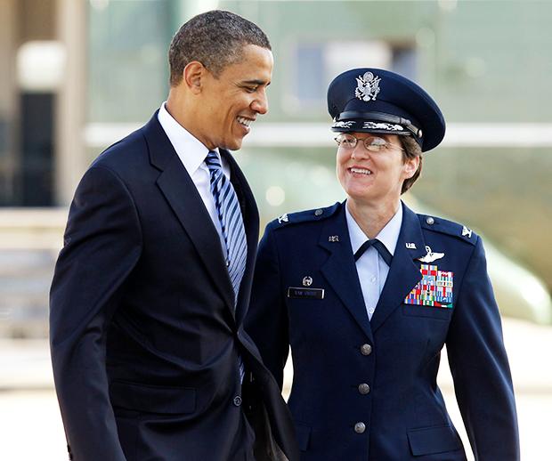 Jacqueline Van Ovost Barack Obama