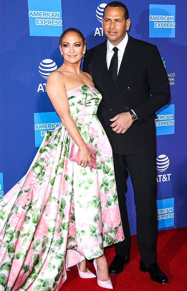 Jennifer Lopez and Alex Rodriguez