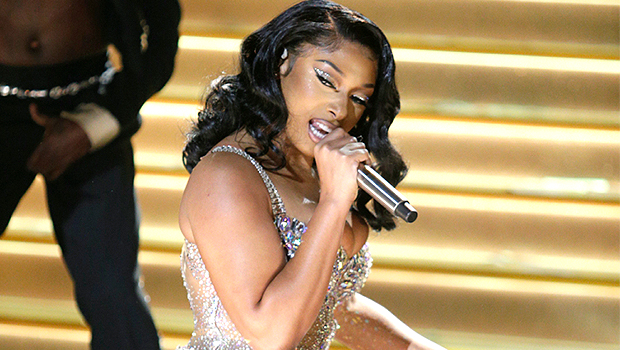 Megan Thee Stallion Gets 'Savage' & Twerks At The Grammys With Electric, Show-Stopping Performance