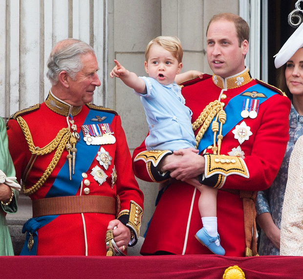 Prince Charles, Prince George, Prince William