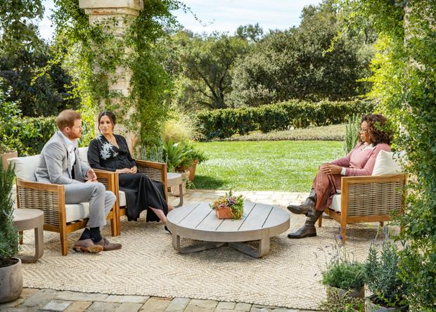 Príncipe Harry, Meghan Markle y Oprah Winfrey
