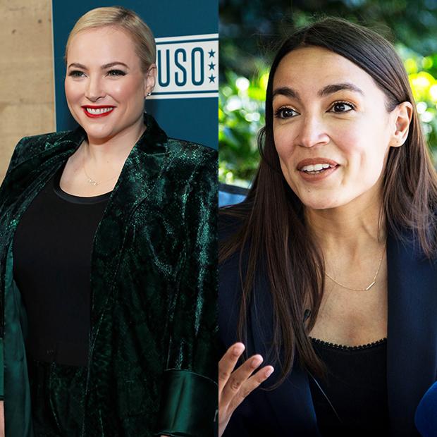 Meghan McCain, Alexandria Ocasio-Cortez