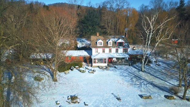 Mia Farrow's home
