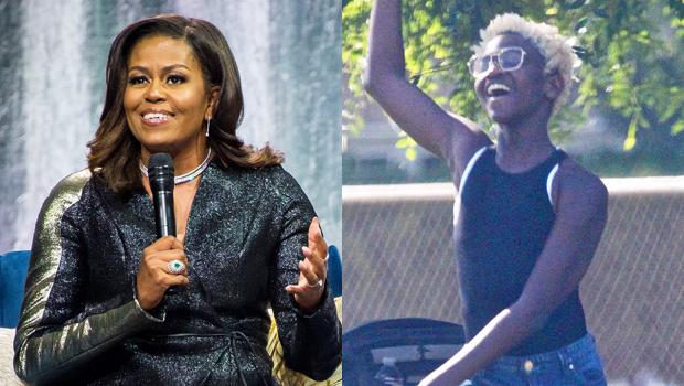 Michelle Obama Zaya Wade