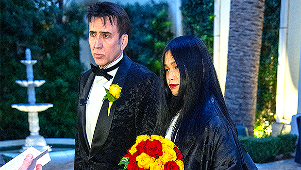 Nicolas Cage 1st Wedding Photo: New Wife Riko Shibata, 26, Stuns In Handmade Kimono — See Pic