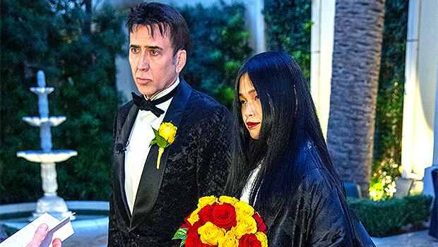 Nicolas Cage 1st Wedding Photo: New Wife Riko Shibata, 26, Stuns In Handmade Kimono — See Pic.jpg