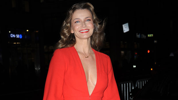 Paulina Porizkova, 55, Stuns In Black Lingerie As She Shares Message: 'Being Pretty Is Not A Privilege'