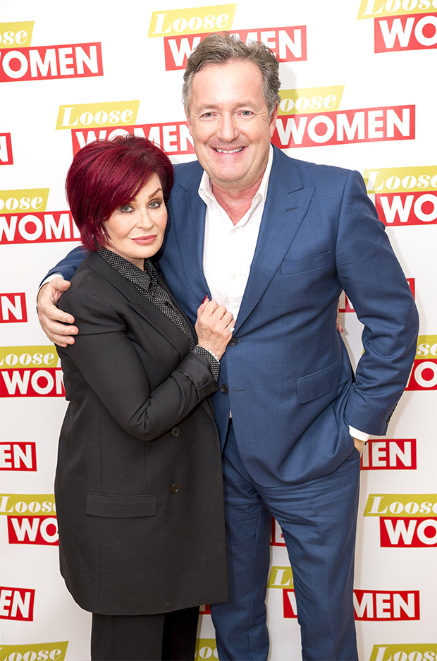 Sharon Osbourne, Piers Morgan
