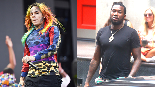 Tekashi 6ix9ine Challenges Meek Mill To A Physical Fight As Their Feud Rages On