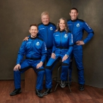 """Actor William Shatner will fly onboard New Shepard NS-18 along with Audrey Powers, Blue Origin's Vice President of Mission & Flight Operations, and crewmates Chris Boshuizen and Glen de Vries, which is scheduled to lift off from Launch Site One in Texas on October 13, 2021. Shatner, who originated the role of """"Captain James T. Kirk"""" in 1966 for the television series Star Trek, has long wanted to travel to space and will become the oldest person to have flown to space. Blue Origin Prepares to Launch William Shatner on New Shepard's 18th Mission, Washington, District of Columbia, United States - 11 Oct 2021"""