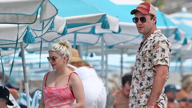Ariel Winter Hits The Beach In A Tie-Dye Bikini Packs On PDA With BF Luke Benward.jpg