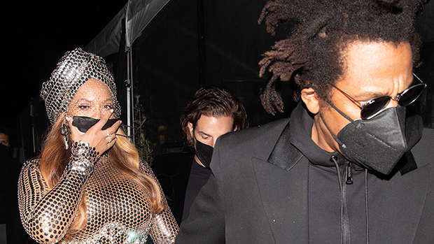 Beyonce & Jay-Z PDA On Grammys Night: Pics  Hollywood Life