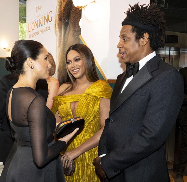 Meghan Markle, Beyonce, JAY-Z