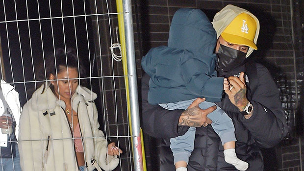 Chris Brown's Son Aeko, 1, Snuggles With Mommy Ammika Harris In Cute New Photo.jpg