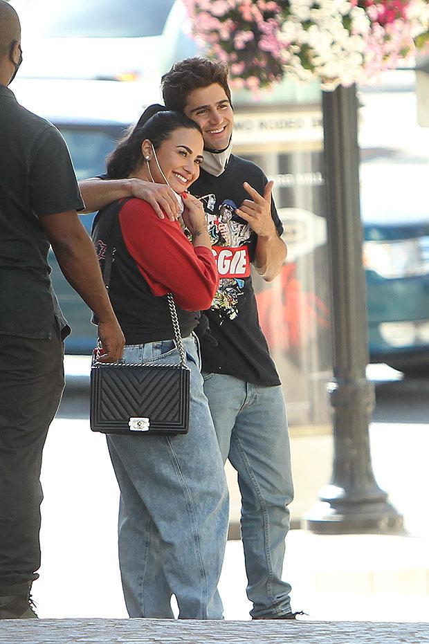 Demi Lovato and Max Ehrich