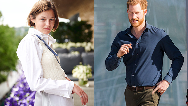 Emma Corrin Prince Harry