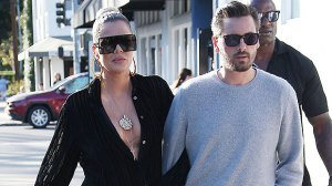 Khloe Kardashian Wears Nothing But Jeans In Sexy New Pic & Scott Disick Likes What He Sees: 'Wow'