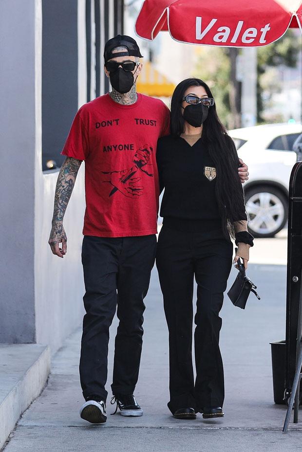 Travis Barker, Kourtney Kardashian