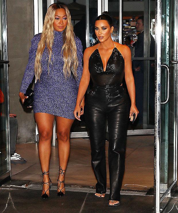 Kim Kardashian, La La Anthony