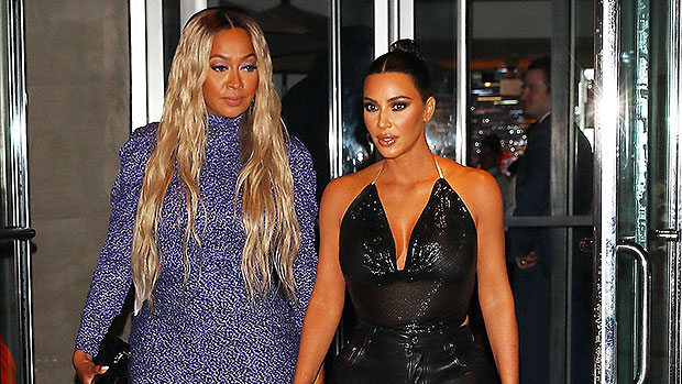 Kim Kardashian Leans On La La Anthony After Divorce: See Their Sexy New Pics In Pastel & Tie-Dye Dresses.jpg