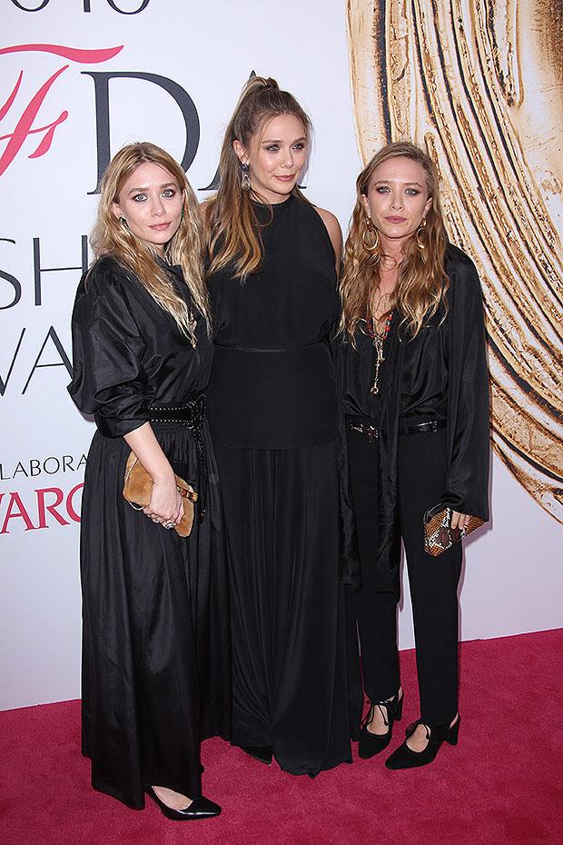 Elizabeth Olsen, Mary-Kate Olsen, Ashley Olsen