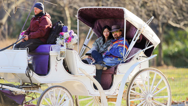 Nicolas Cage, 57, & His 5th Wife Riko, 26, Go For Romantic Carriage Ride 2 Weeks After Wedding — Pics.jpg