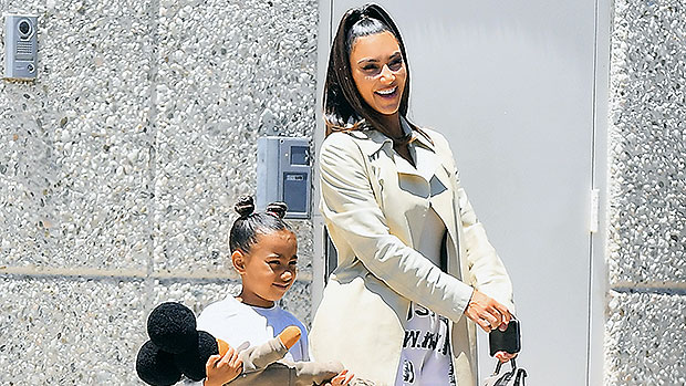 North West's Lizard Wears Mom Kim Kardashian's SKIMS Collection In New Pics: 'Kinda Cute'