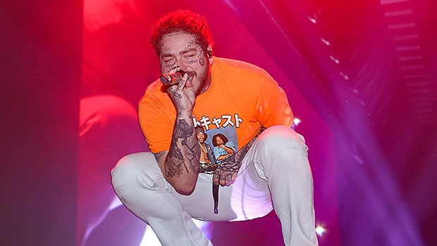 Post Malone Delivers A Haunting Performance Of 'Hollywood's Bleeding' At The Grammys